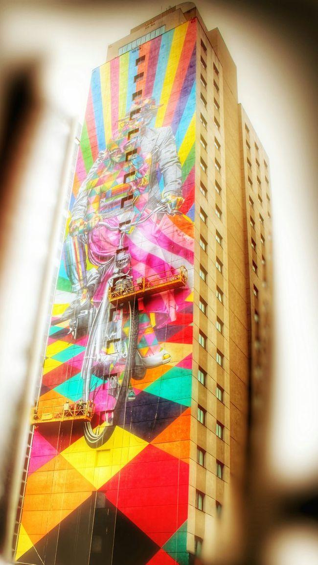 Multi Colored Colorful The Week On Eyem Magic Mission Geometric Shapes Magic Colours São Paulo, Brasil My City Street Photography Biker Life Pinheiros