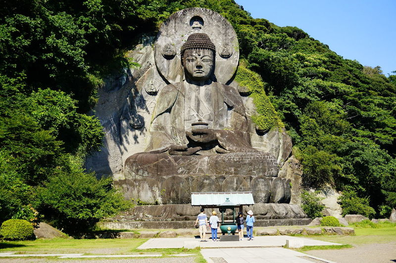 BIG Buddha Daibutsu Japan Historu History Nokogiriyama 大きい 大仏 日本 鋸山