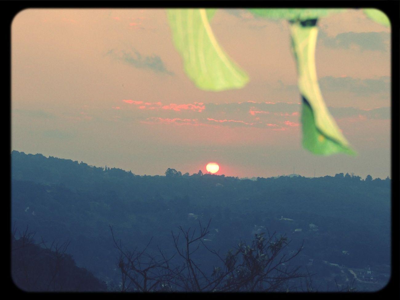 Por do sol em Aldeia da Serra