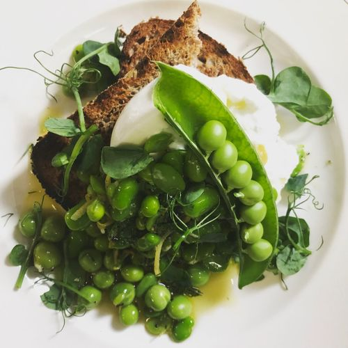Peas Food And Drink Healthy Eating Freshness Vegetable Beans And Peas Broadbeans Lemon Mint Foodporn First Eyeem Photo