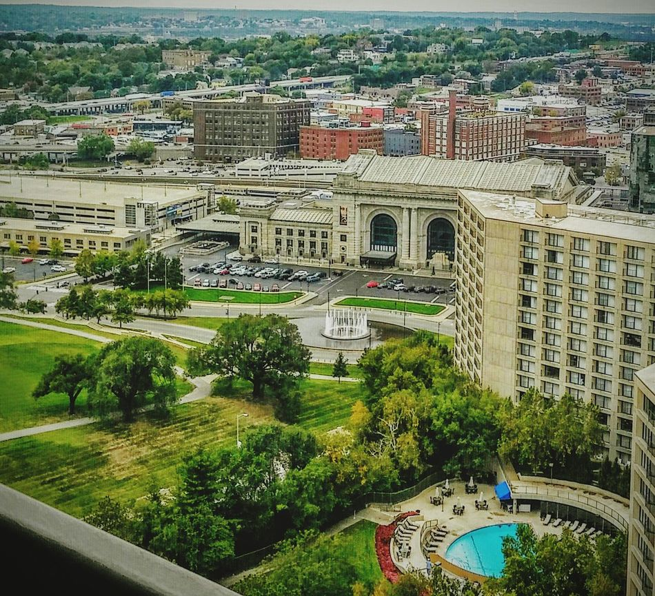 Union Station Train Station Urban Photography Urban Exploration Urban Life Kansas City Missouri  View From Above View From The Balcony View From Loft Enjoying Life fountain Pool trees Landscape sunny day Happy Time Enjoying Life Outdoor Photography Famous Place Famous City EyeEm Best Shots eyeem point of view