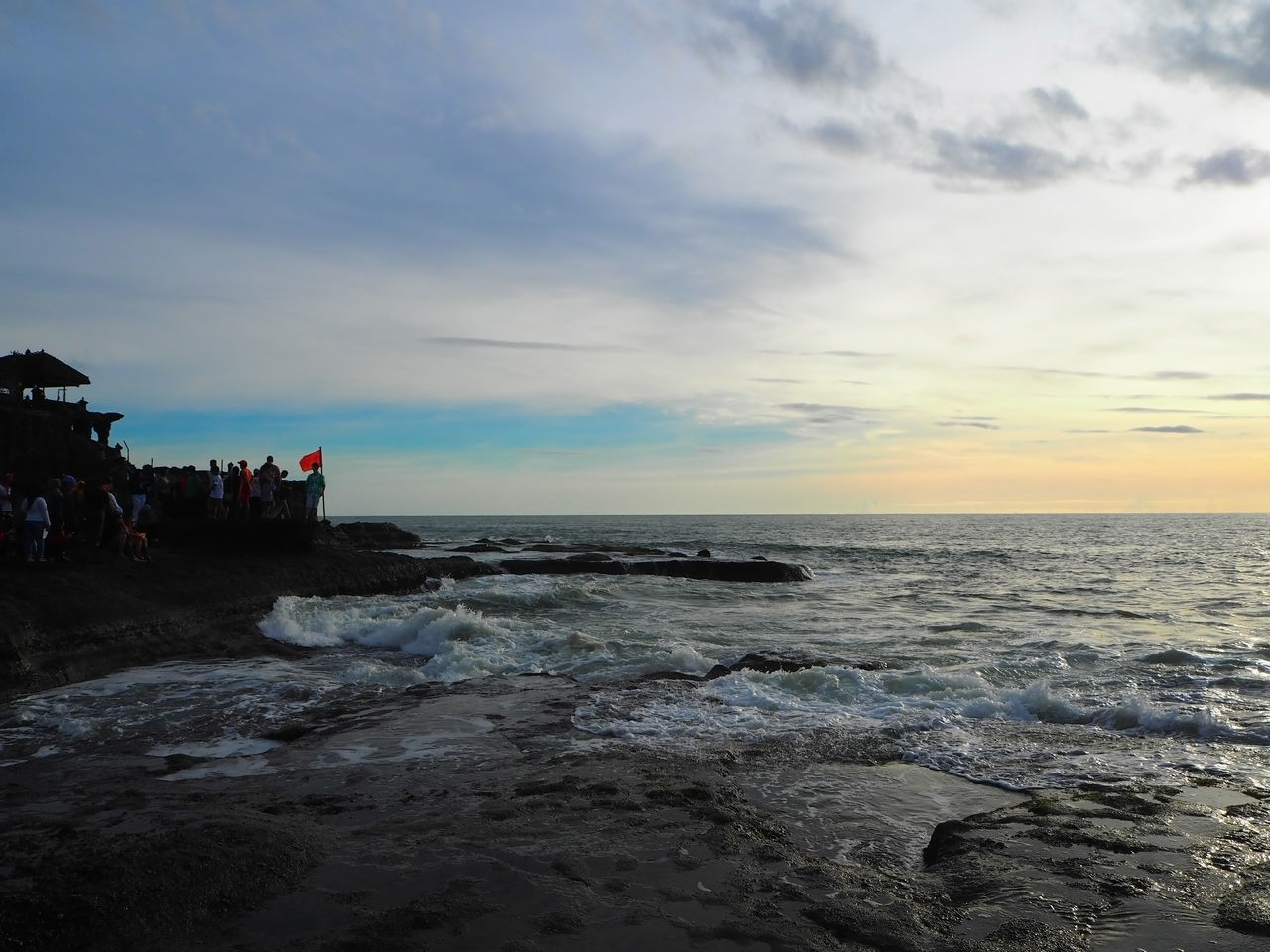 💛🌊 Life Is A Beach 🌊💛 Travel Tanah Lot Wave Bali Bali, Indonesia Beach Beauty In Nature Cloud - Sky Exceptional Photographs Landscapes Lifestyles Nature Outdoors People People Watching Scenics Sea Sky Sunset Tadaa Community Tranquility Travel Destinations Still Life Capture The Moment