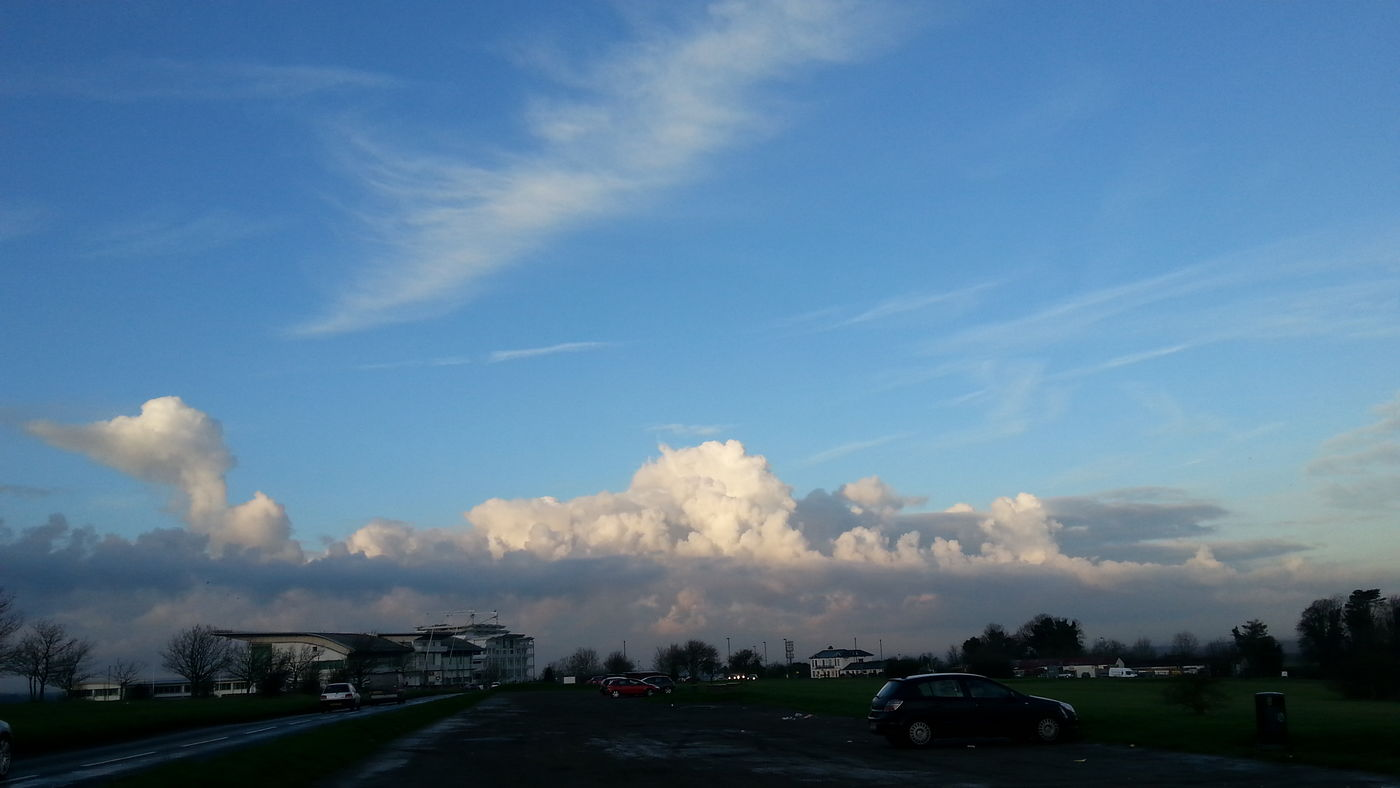 Check This Out Clouds From My Point Of View Sky Morning Light At Dawn  Epsom Downs