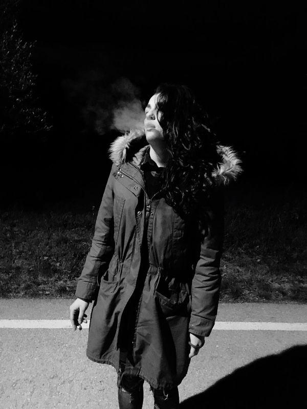 Youth Of Today Frist Time On EyeEm Smoking Me Cigarette  Marlboro