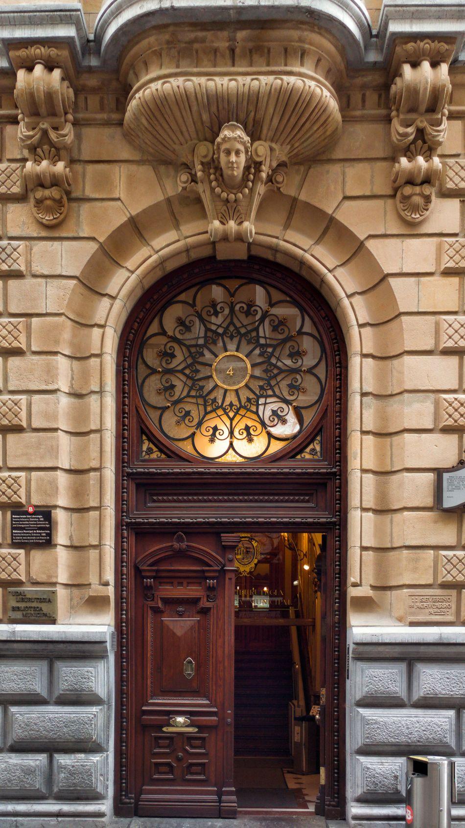 Architecture No People Entry Door Library Building Library Biblioteca Bilbaolovers Bilbao Bizkaia Doors