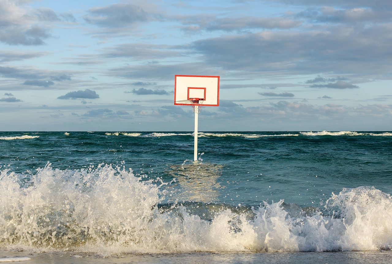 Beautiful stock photos of basketball,  Basketball Hoop,  Beauty In Nature,  Cloud - Sky,  Day