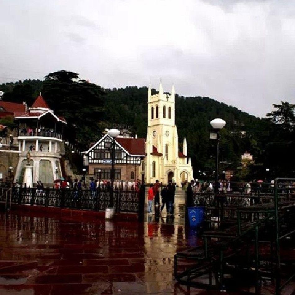 Shimla Rain Theridge Church Scandalpoint Townleave Schooltym memories 2012