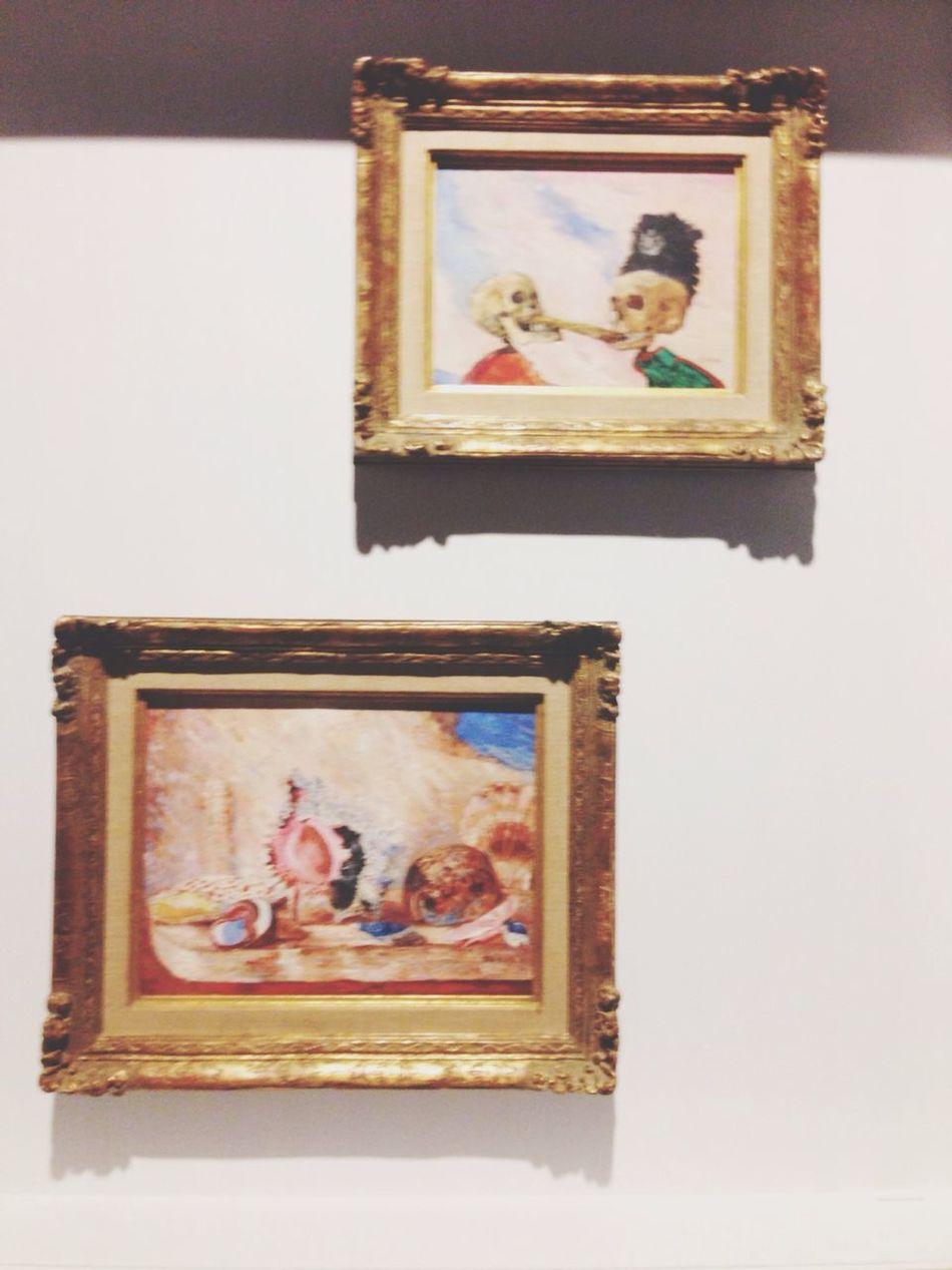 Bruxelles Musée Des Beaux-arts Belgique James Ensor