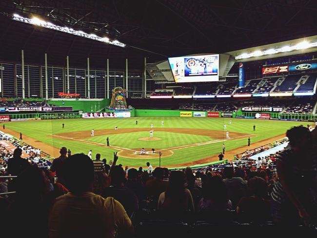 The world's most garish park! Baseball