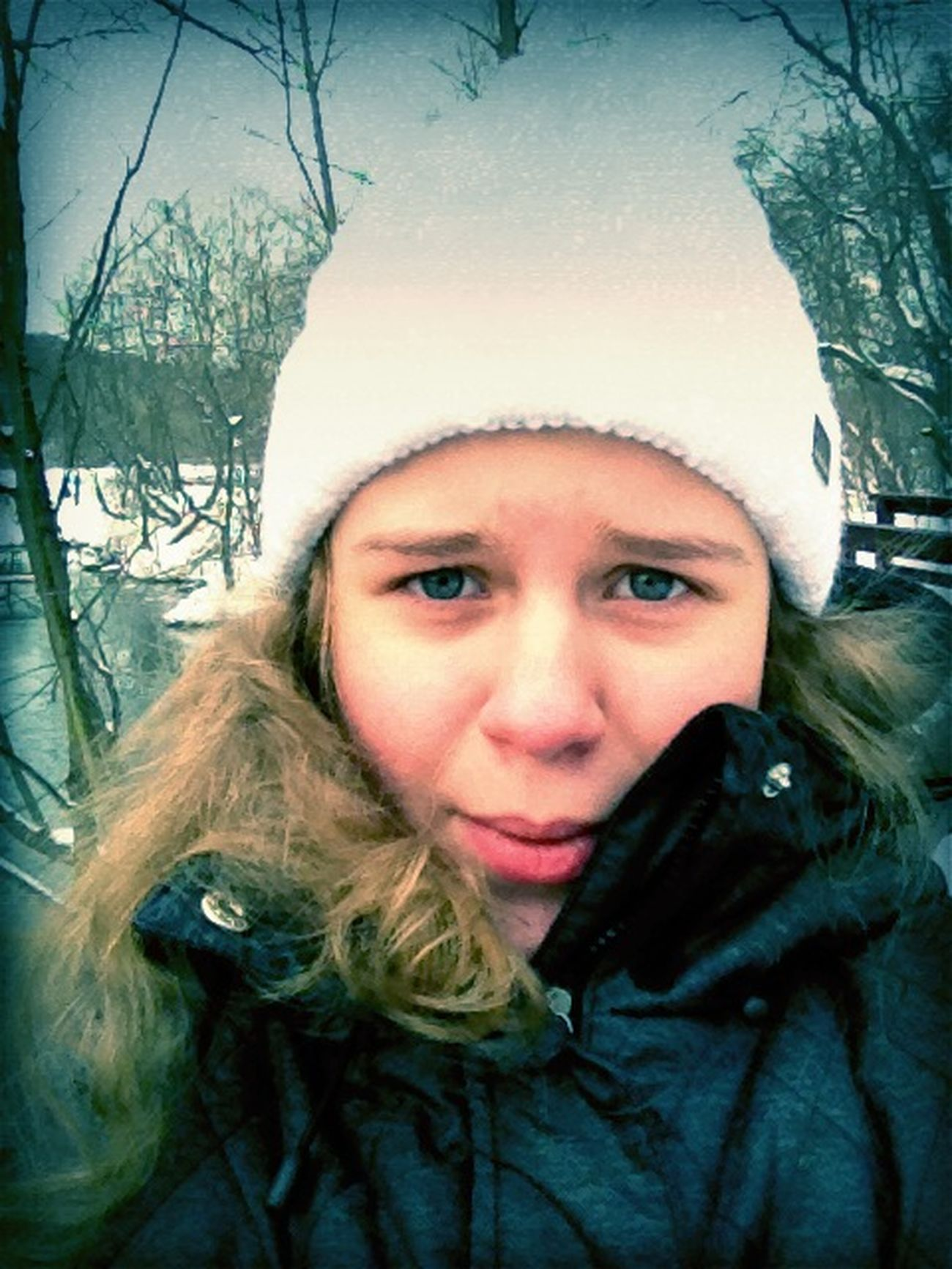 omg cold winter-Nadya freeze! HATE!1 at school Omg Cold Winter-Nadya Freeze! HATE!1