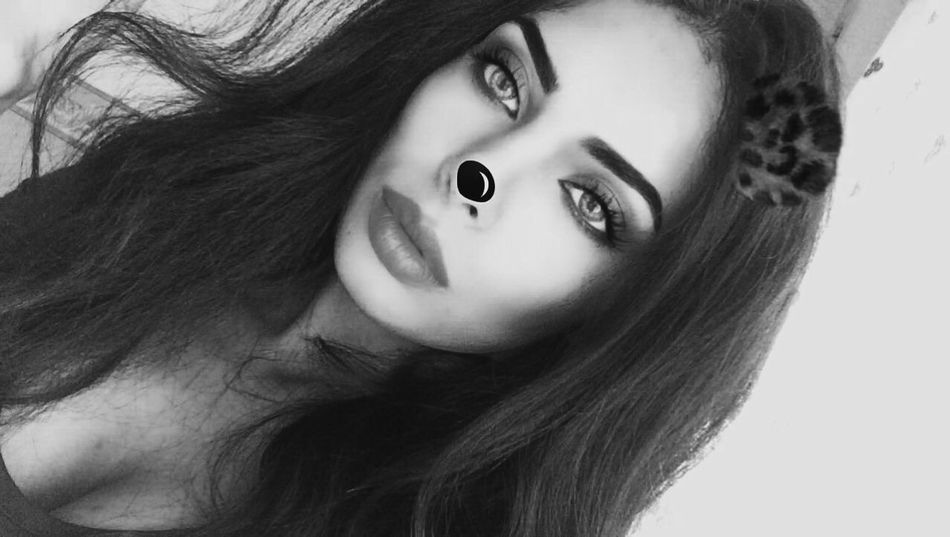 First Eyeem Photo Makeup Eye Face Beautiful Woman Makeupartist Blackandwhite Black And White EyeEm First Eyeem Photo