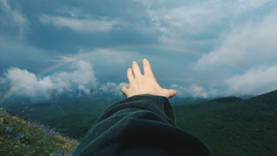 Beautiful stock photos of rainbow, Arch, Cloud, Colorful, Countryside