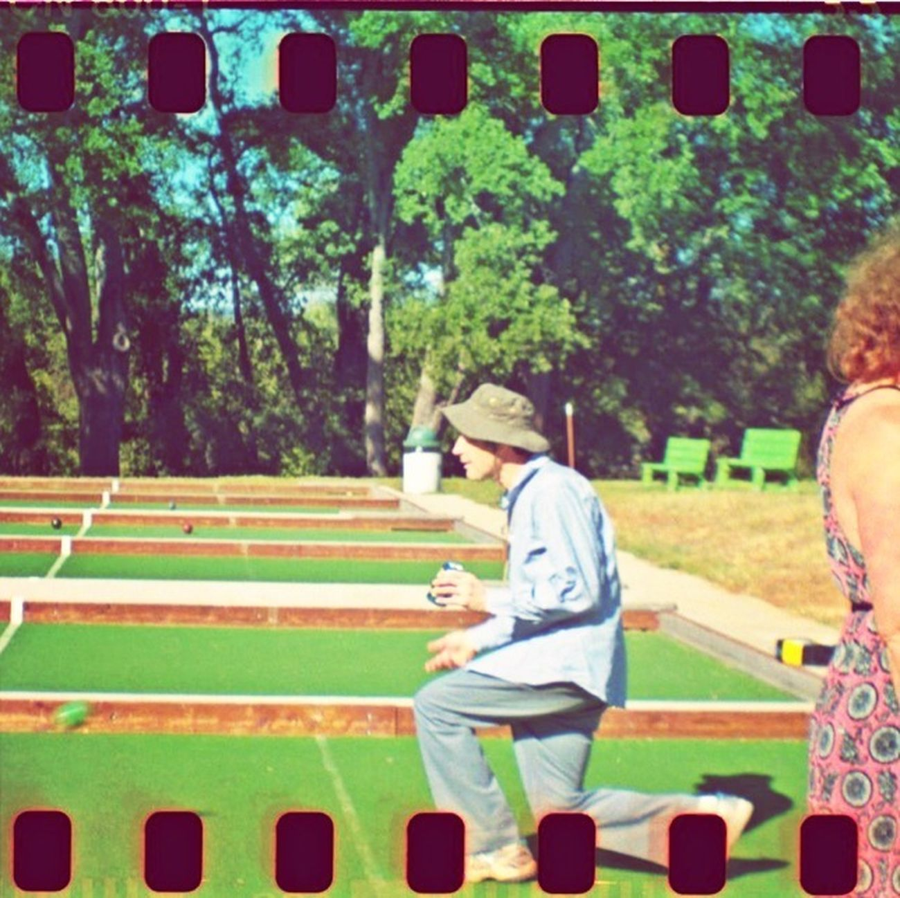 Bocce Ball HDR FX Pro Real Film Hangingout