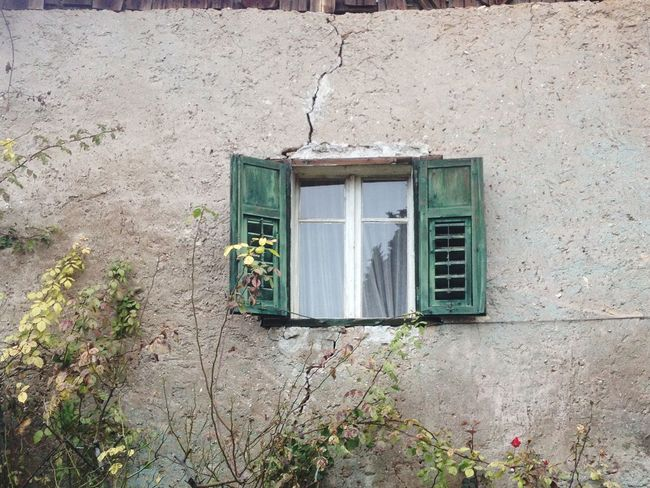 A closed window Building Exterior Architecture Built Structure Outdoors House Day No People Altoadige Italy