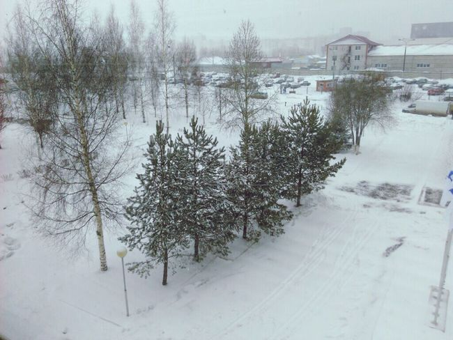 City Izhevsk типичный Ижевск, весна, апрель