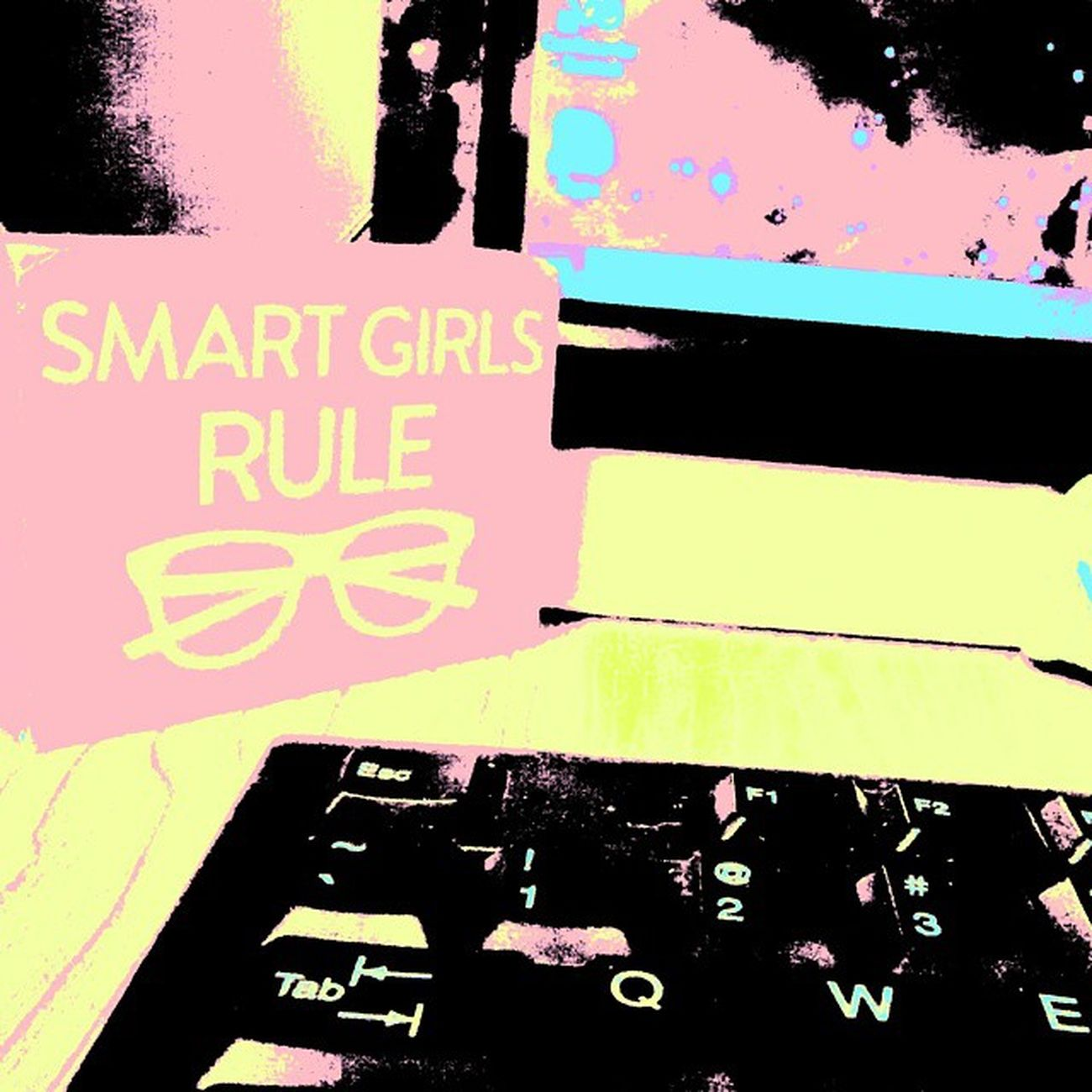 Office Desk Smartgirlsrule Glasses schoolsupplies