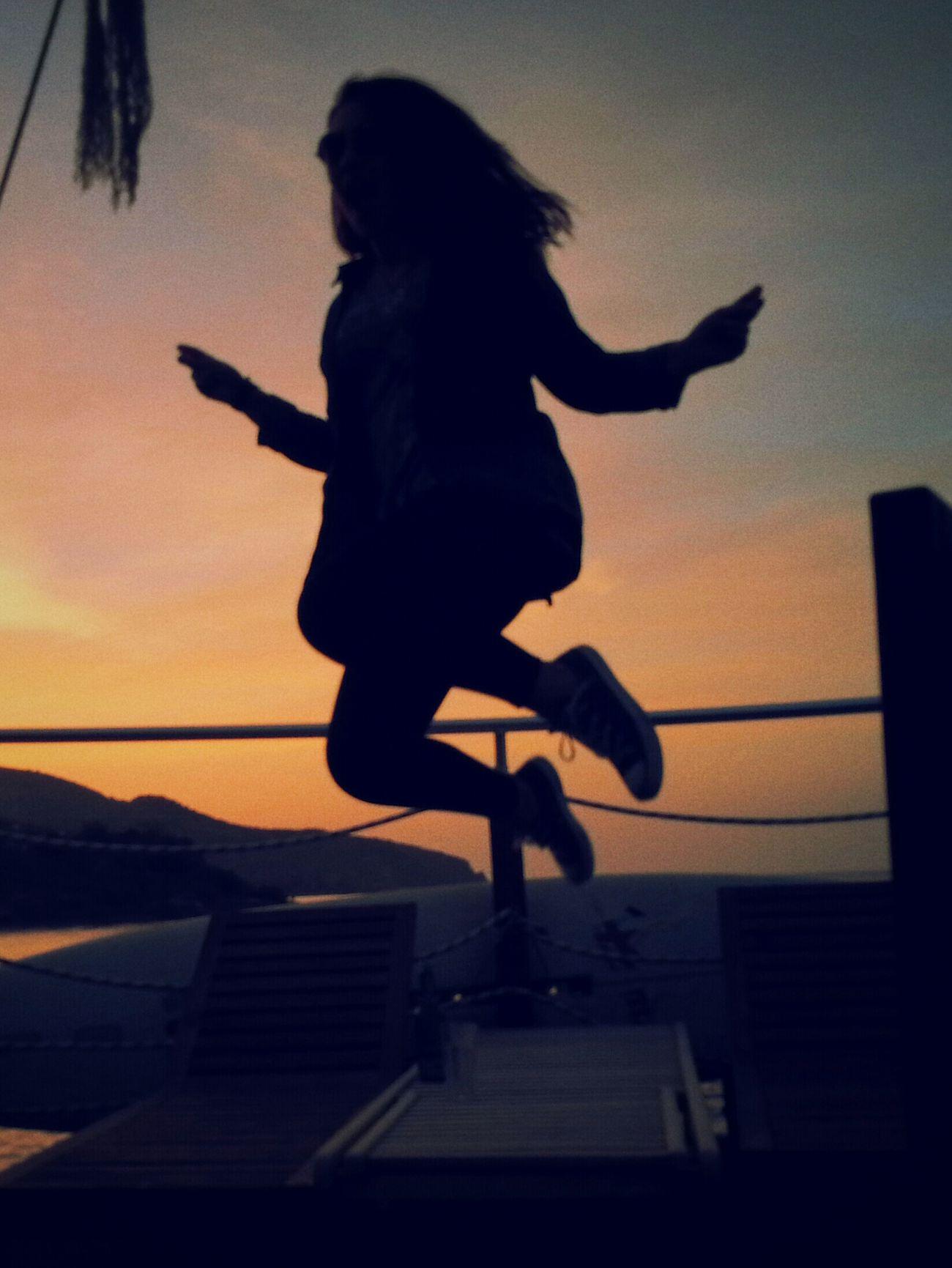 Selfportrait I Believe I Can Fly... North Cyprus Enjoying Life