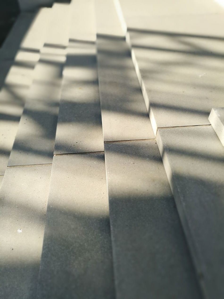No People Backgrounds Day Close-up Outdoors LINE HuaweiP9 Stairs Ligjt And Shadow Shadow The City Light Minimalist Architecture