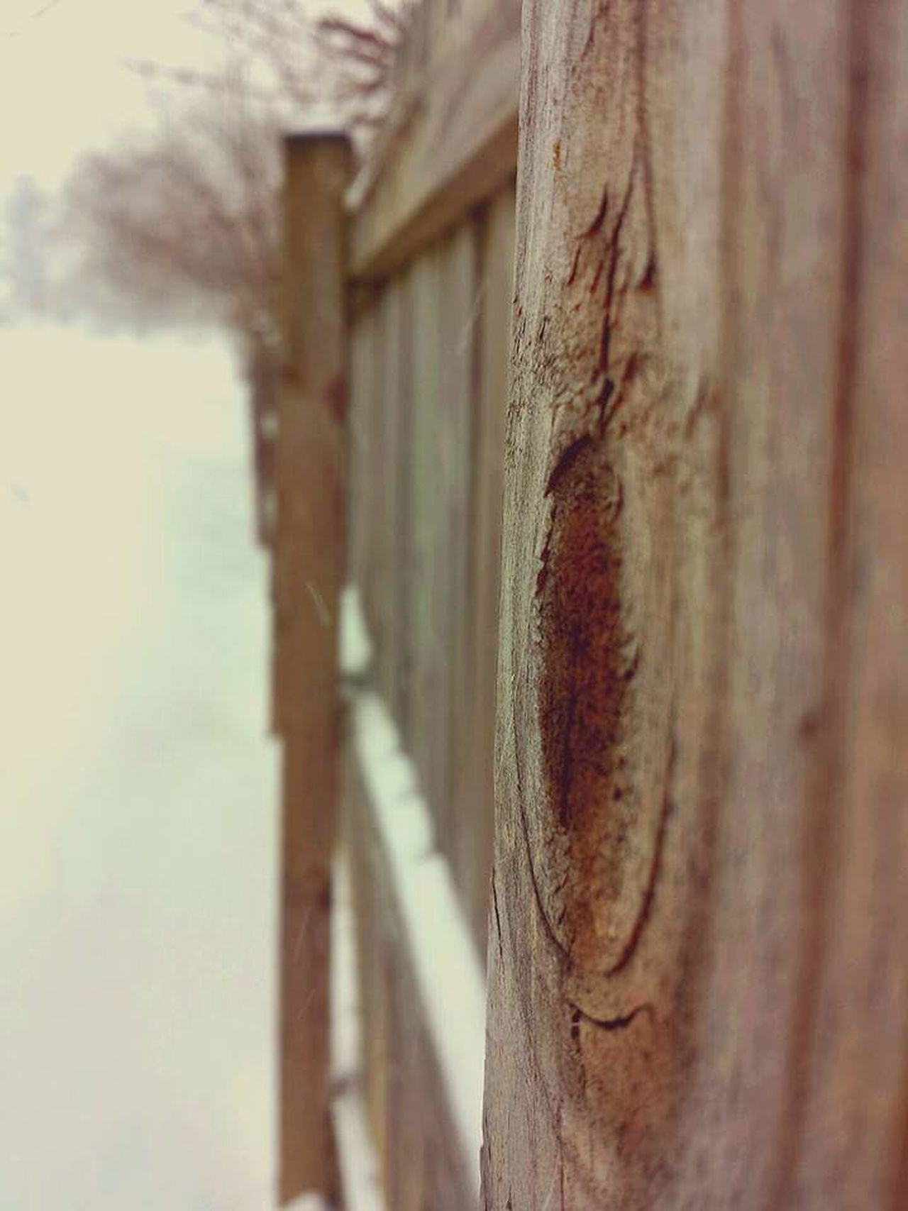 Fence Snow Smithsburg Maryland Maryland