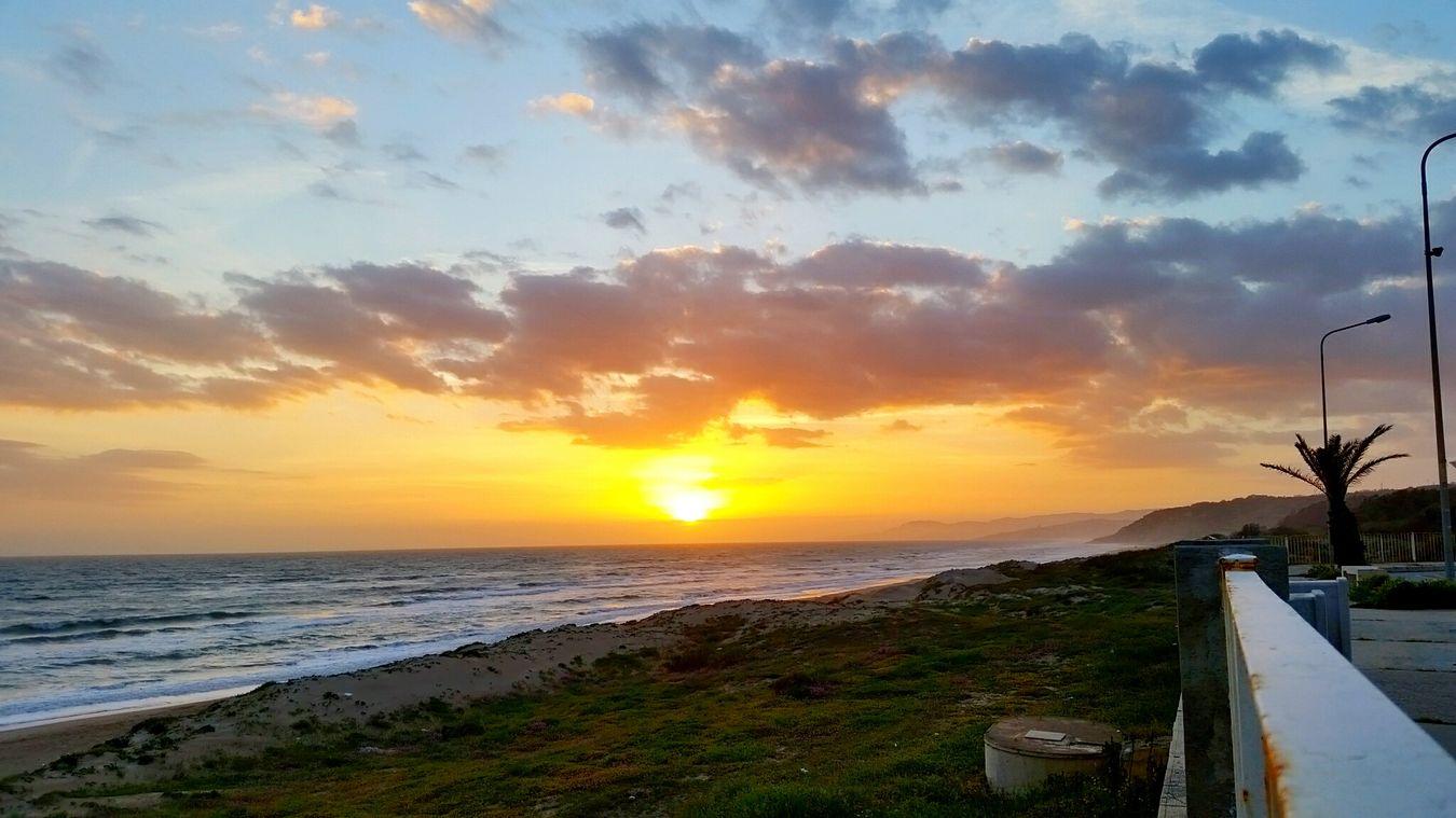 Sunset Landascape Beautiful Nature Perfectnature Nature Naturecolor Freedom Life Sun Sea