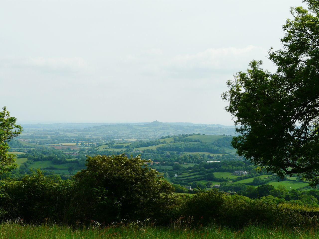 Mendip Hills Looking Towards Glastonbury Yeah Springtime! Nature On Your Doorstep Natures Diversities Relaxing Taking Photos Nature Landscape Nature Photography [ Landscapes