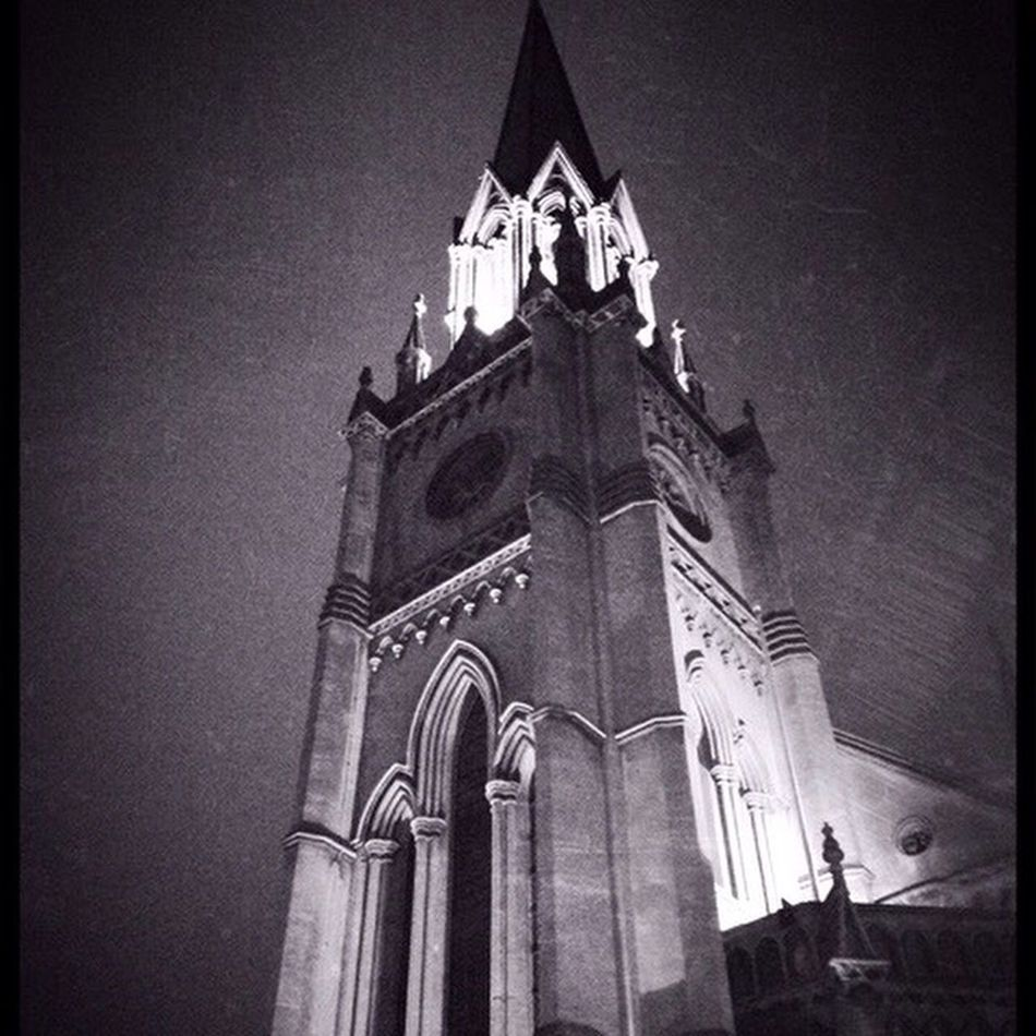 Nicely lit church in Bath Evedoyle Bathcity Wildcat Media IPhoneography