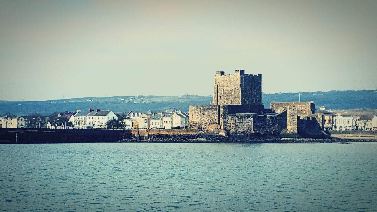 Carrickfergus Castle from the Sea Tim Bailie Dailyphoto Phone Photography Belfast Lough Northern Ireland Sailing Bay Mobile Photography Belfast Carrickfergus Castle Showcase March