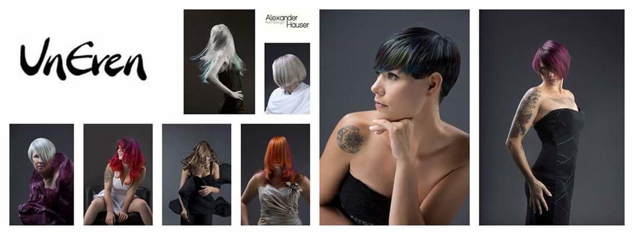 Hair Haircut Hairstyle Haircolor Hairsalon Hair Cut Hairstylist Fashion Model Studio Shot Alexander Hauser Olaplex Blonde Red Hair Ice Crystal Uneven Dachau Haare The Portraitist - 2017 EyeEm Awards