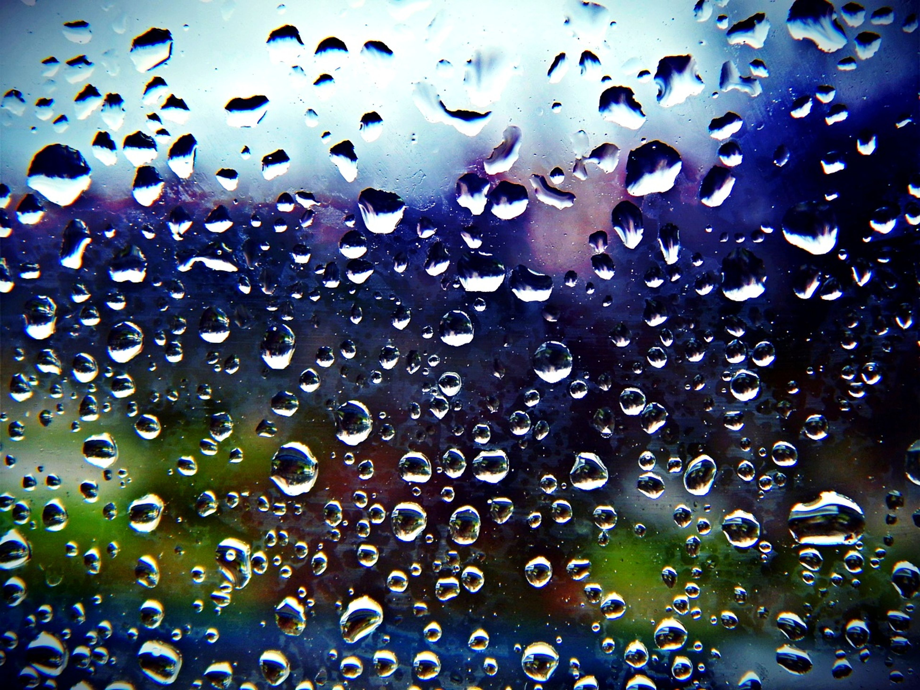 drop, wet, water, window, rain, transparent, glass - material, raindrop, weather, backgrounds, full frame, indoors, season, sky, glass, close-up, focus on foreground, water drop, droplet, monsoon