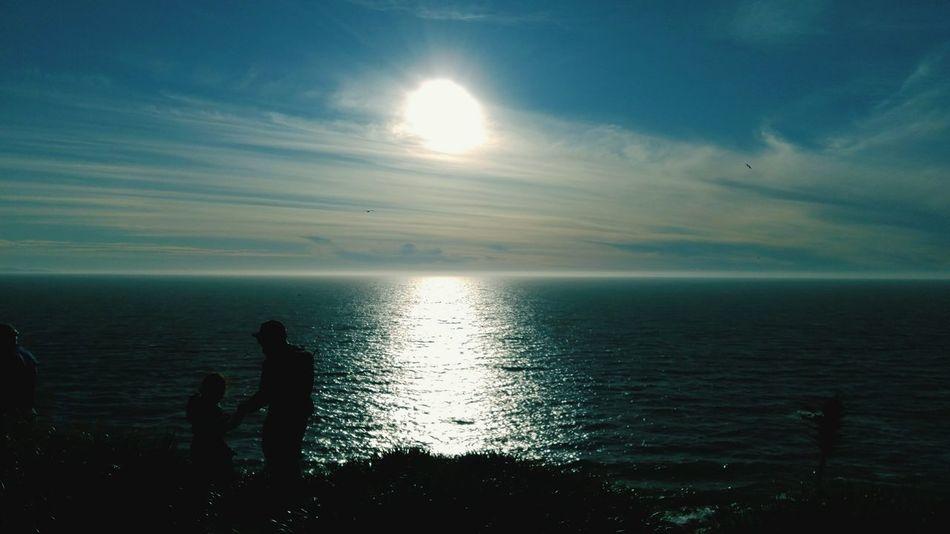 Hermoso dia Rocoto Chile♥ Sea And Sky
