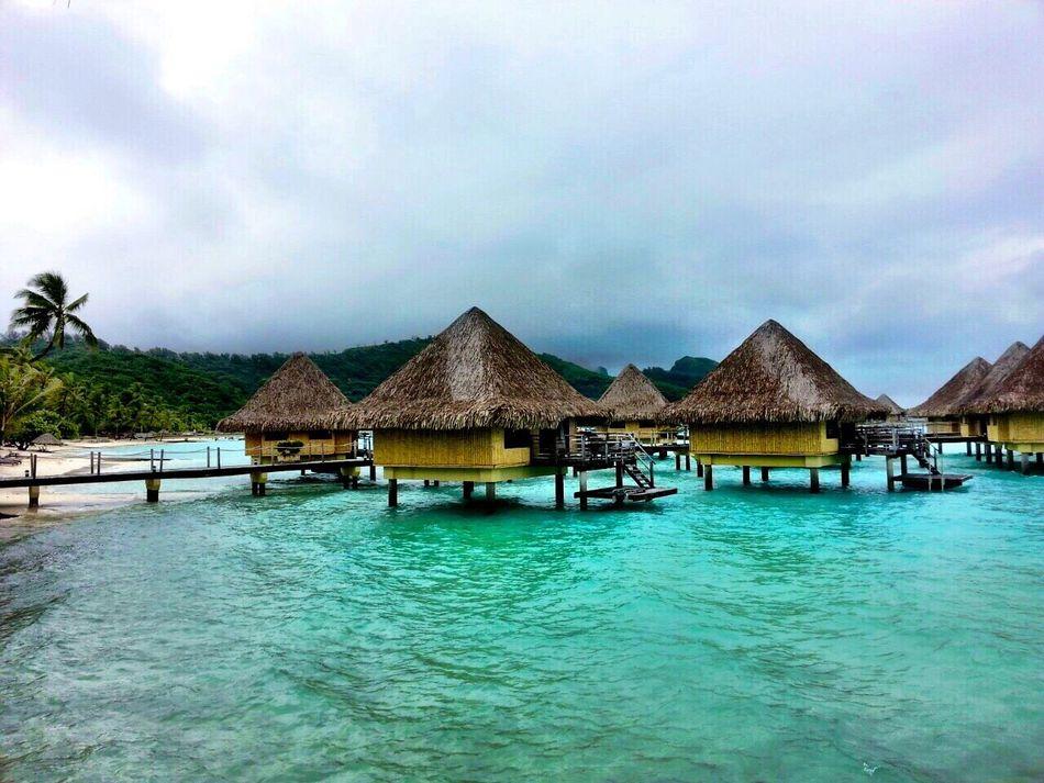 Beautiful stock photos of bora bora,  Architecture,  Beauty In Nature,  Blue,  Bora Bora