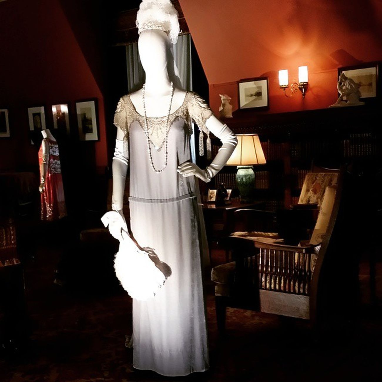 DowntonAbbey costume exhibit at Biltmore Avl Wnc avlent