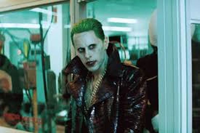 Black Jumper Y His Lo0vely Hottie Just Like Girls Mulingu Asg Sucide Squad That Green Tho :] The Joker