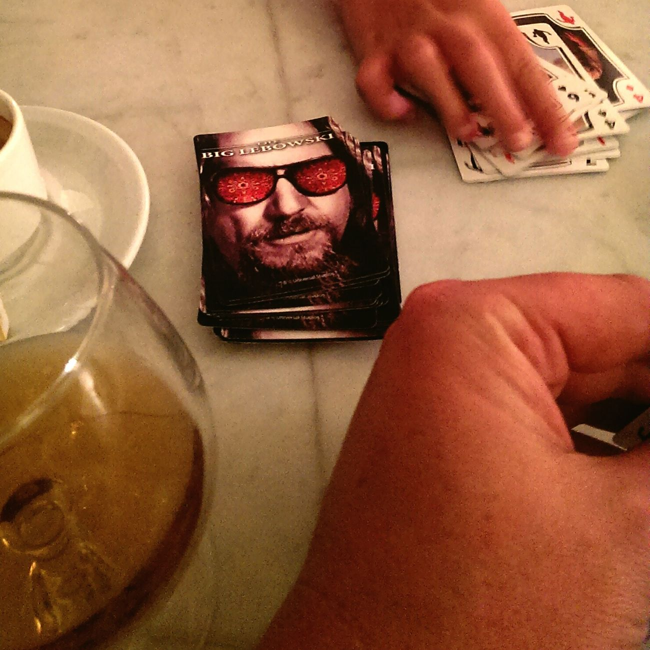 ..... The Big Lebowski Cognac Playing Cards