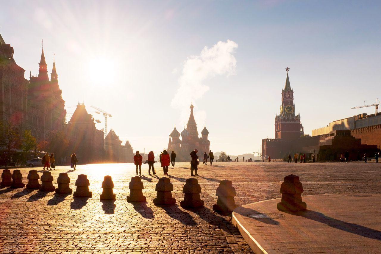 Beautiful stock photos of moscow, Bollard, Building Exterior, Built Structure, Capital Cities