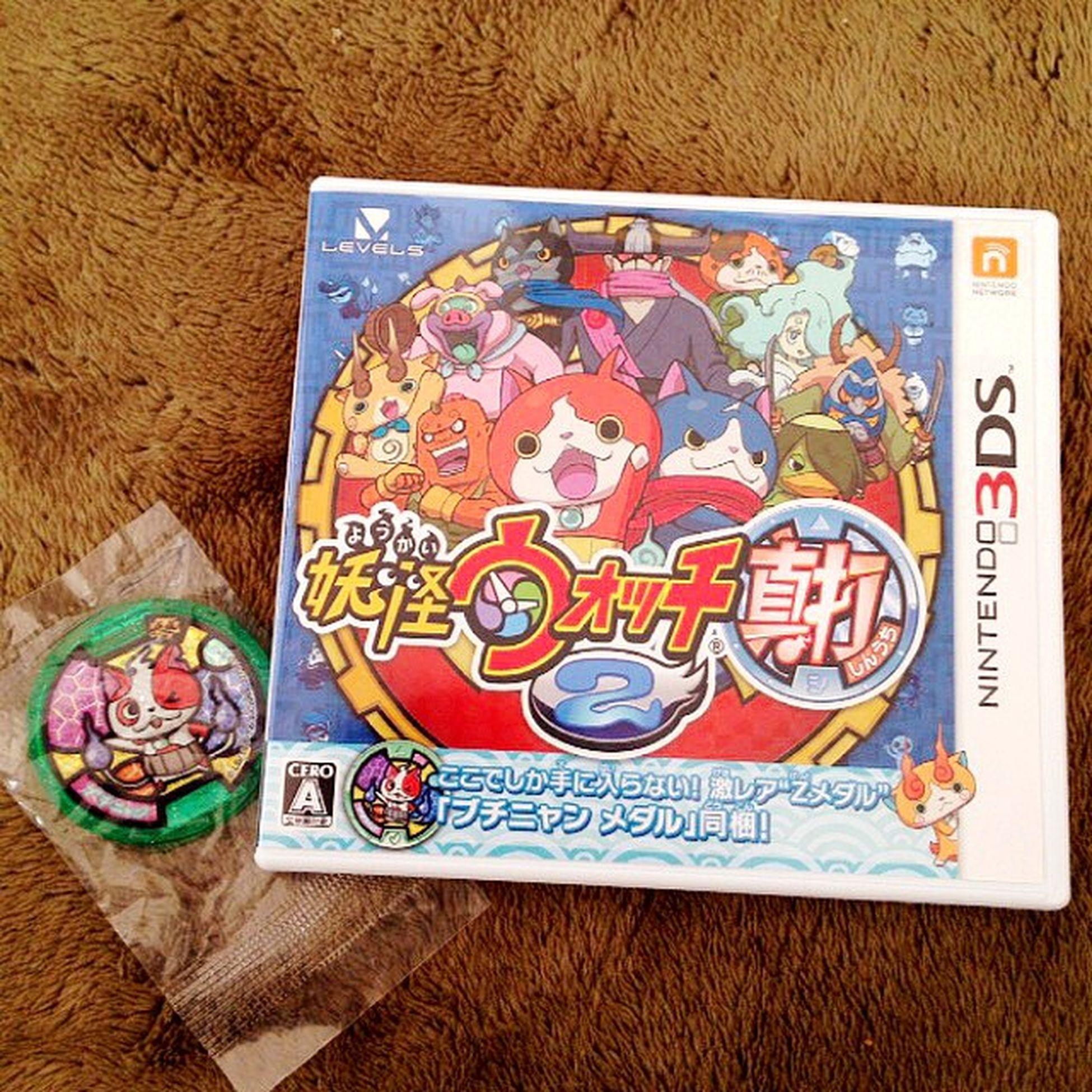 Game Nintendo コストコ 3DS Ds 妖怪ウォッチ ジバニャン Youkai フユニャン Youkaiwatch ジバコマ 真打 妖怪ウォッチ真打 妖怪メダル ブチニャン ダークニャン