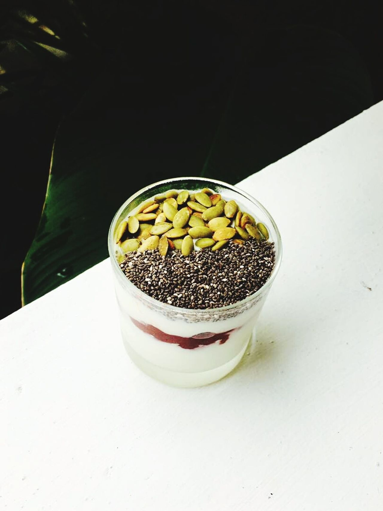 Seed Legume Family Healthy Eating Food And Drink Fruit Chia Seed High Angle View Indoors  Food Freshness No People Close-up Day yogurt