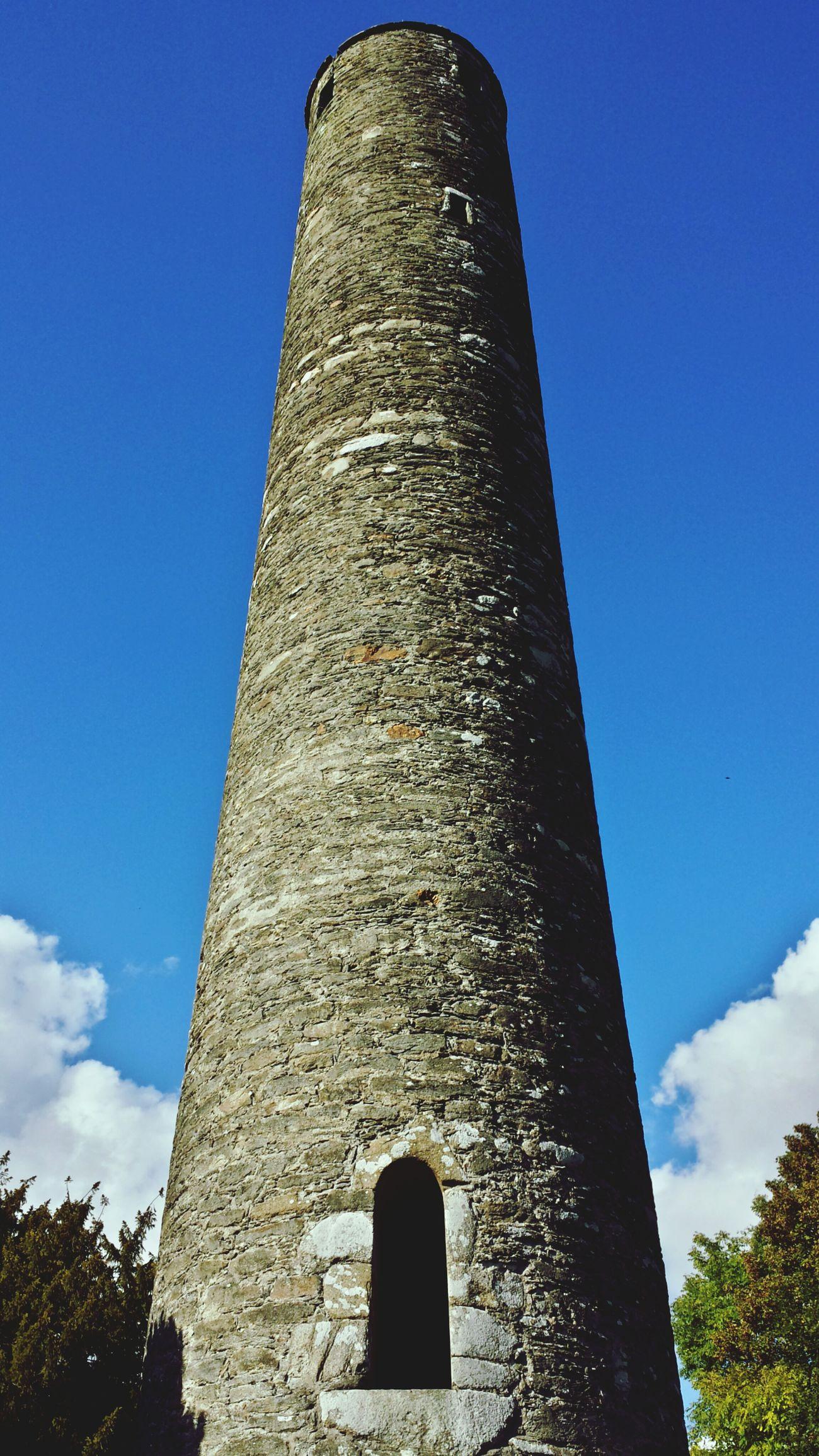 Round Tower Blue Sky