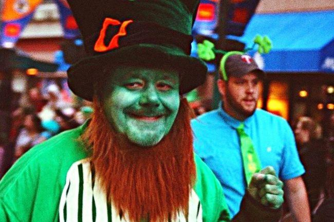 Colors Of Carnival St. Patricks Day Parade Green Leprechaun Shamrock