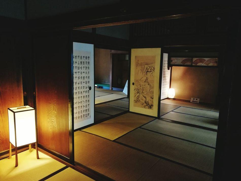 Illuminated Indoors  No People Architecture Japan Shinsengumi 日野本宿