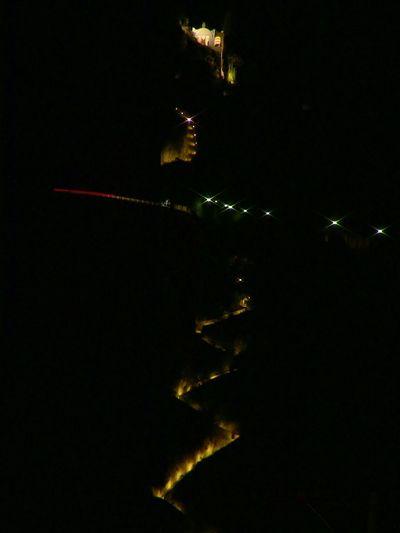 Capri Night Lights Scala Fenicia Axel Munthe