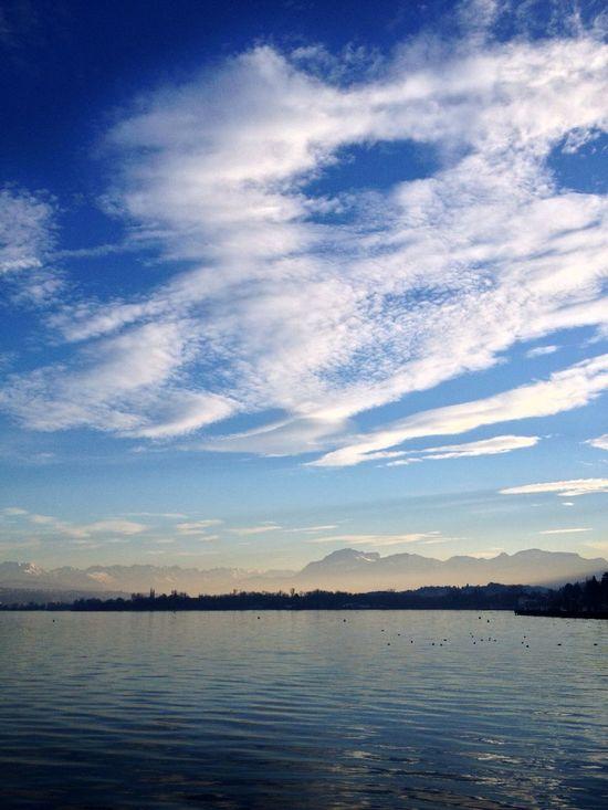 Photo Sun_collection, Sky_collection, Cloudporn, Skyporn Lake