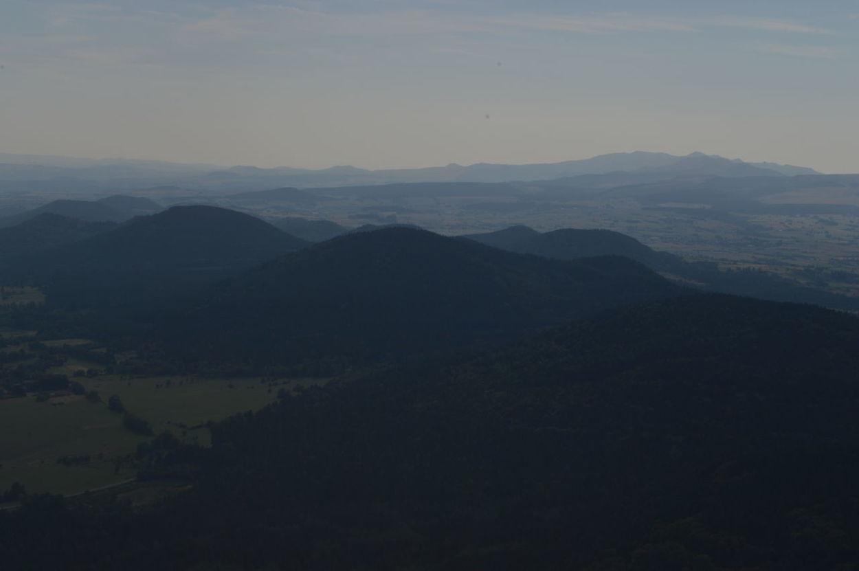 Beauty In Nature Dramatic Landscape Dreamlike Fog Foggy Geology Majestic Mist Mountain Mountain Peak Mountain Range Physical Geography Puy De Dôme Scenics Tourism Volcano Volcanoes