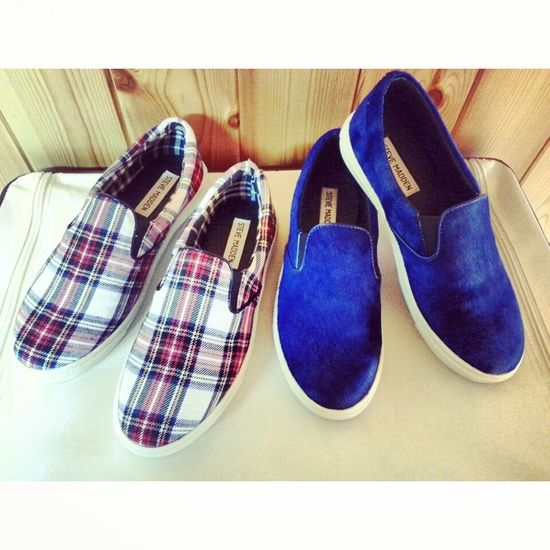 couldn't make the decision between this two cuties, so I bought both ? Stevemadden New Sneakers Fashionitem