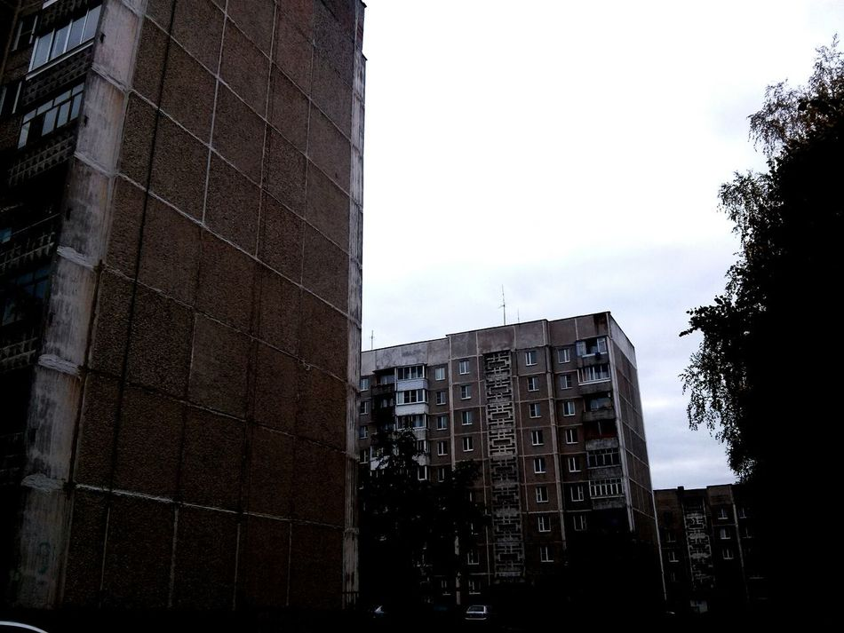 Built Structure Architecture Building Exterior City Low Angle View Tall - High Building Sky Window Office Building Development Skyscraper Cloud - Sky Growth Outdoors Day City Life Building Story Apartment Полоцк беларусь Polotsk Belarus Modern