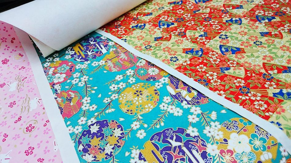 Paper View Japanese Paper from Kyoto Traditional Patterns Japanese Kimono