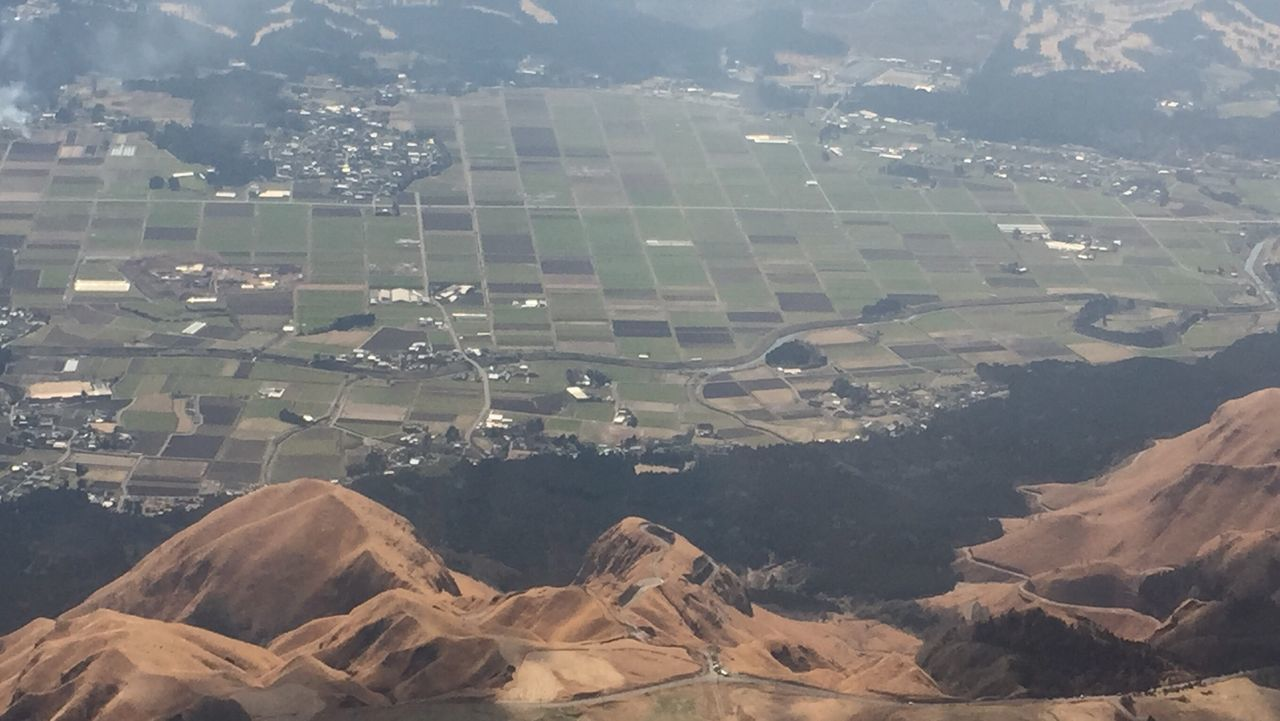 From An Airplane Window
