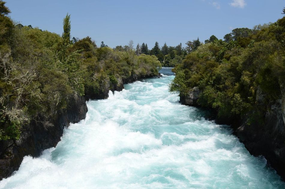 Huka Falls, New Zealand Beauty In Nature Blue Flowing Flowing Water Green Color Huka Falls Huka Falls, NZ Hukafalls Idyllic Landscape Motion Nature New Zealand New Zealand Beauty New Zealand Scenery Newzealandphotography No People Non Urban Scene Non-urban Scene Outdoors Power Of Nature River Scenics Tranquil Scene Water