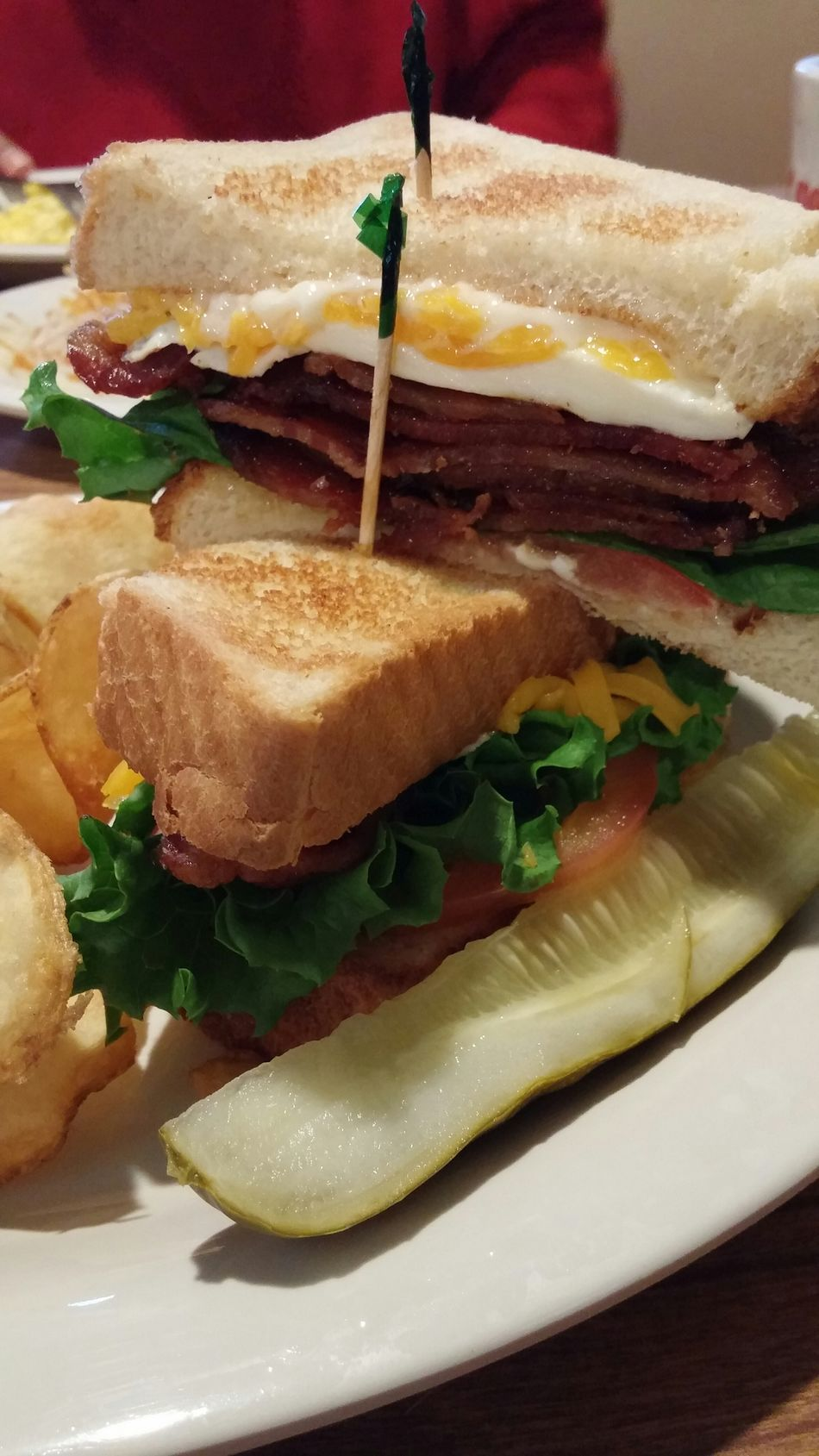 BLT w/Fried Egg GoodGOD