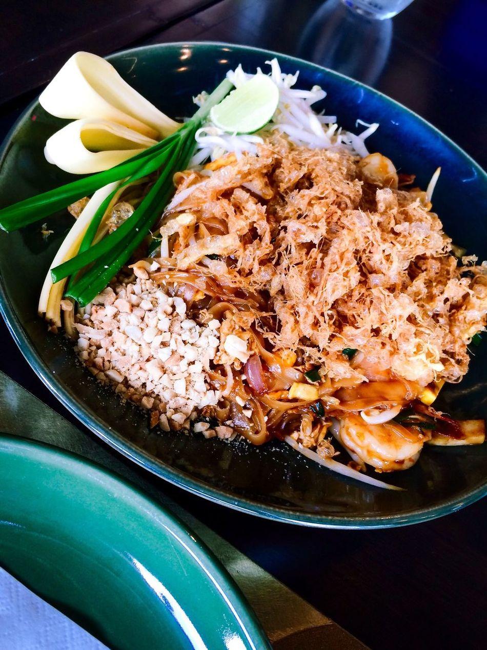 Pad Thai Thaifood Thai Noodle Thai Style Yummy